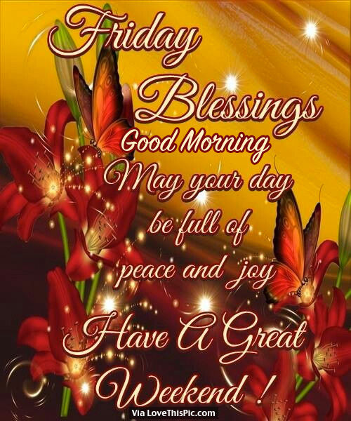 Friday Christmas Quotes: Friday Blessings, Good Morning, May Your Day Be Full Of