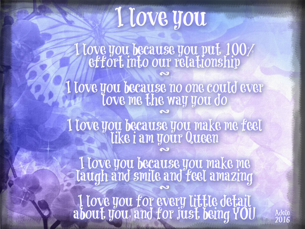 I Love You Quotes Pinterest: I Love You Because Pictures, Photos, And Images For