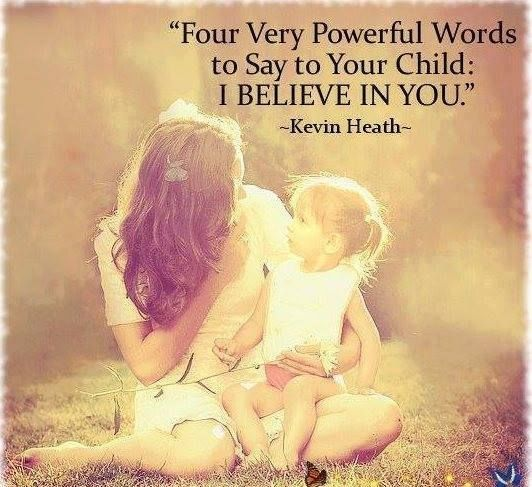 four very powerful words to say to your children i