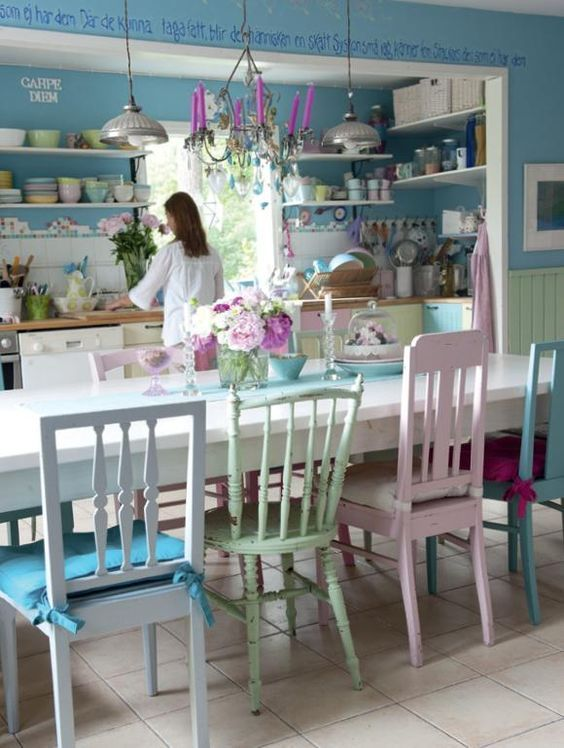 kitchen in pastel colors pictures photos and images for facebook