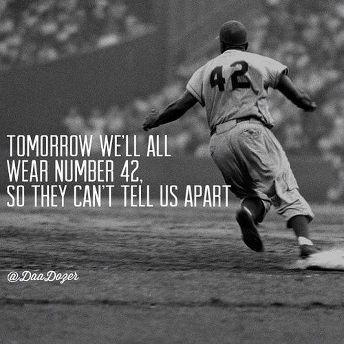 a review of the life of jackie robinson Review: 42 is several movies in one it's a valuable history lesson, an  intelligent drama and an inspiring portrait of a true american hero.