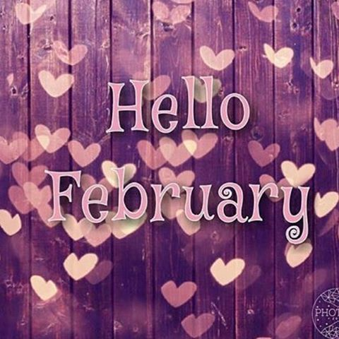 Hello February Heart Picture Pictures Photos And Images