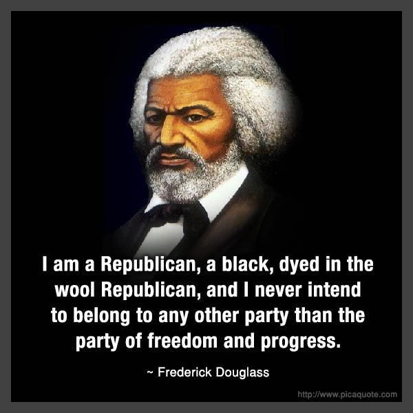 Narrative Of The Life Of Frederick Douglass Quotes: I Am A Republican Pictures, Photos, And Images For