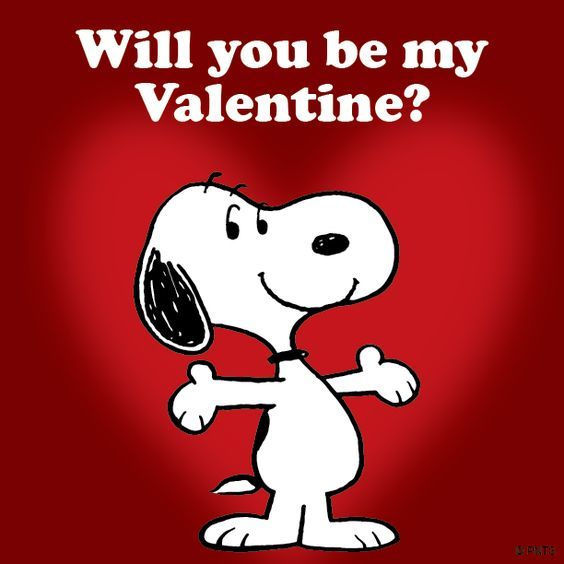 happy birthday on valentines day images photos quotes facebook - Snoopy Will You Be My Valentines s and