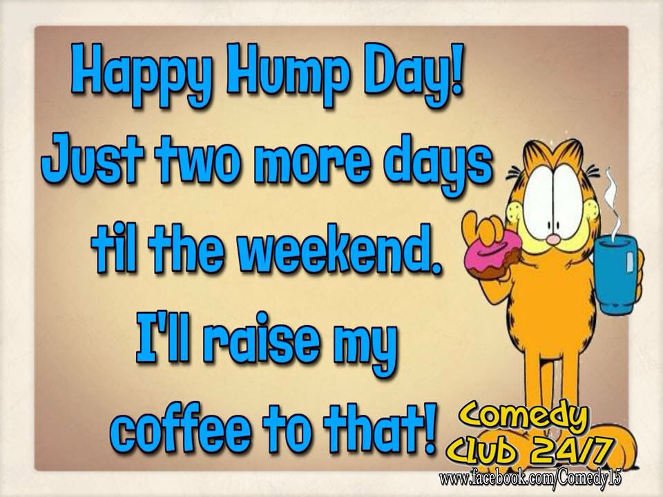 Happy Hump Day Only 2 Days Until The Weekend