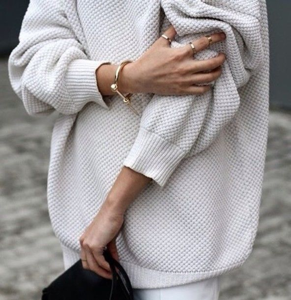 Vaak Oversized Knit Sweater Pictures, Photos, and Images for Facebook #AV13