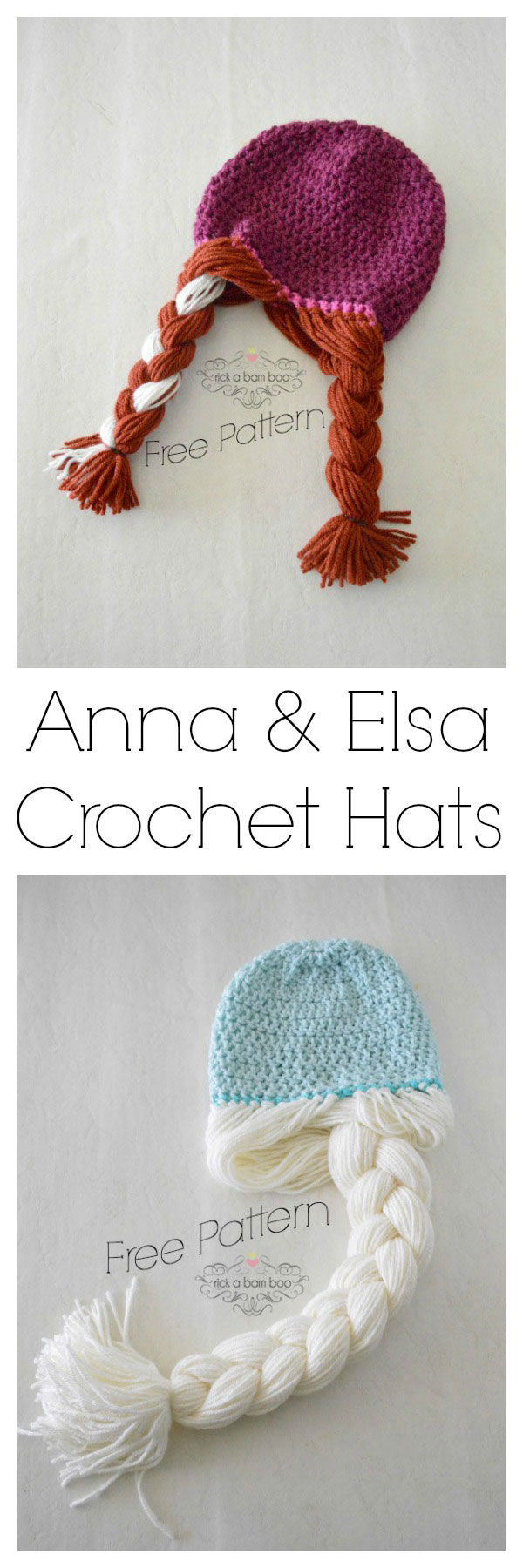 Anna Amp Elsa Crochet Hats Pictures Photos And Images For