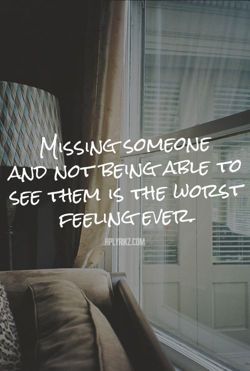 Missing Someone At Christmas Quotes: Missing Someone And Not Being Able To See Them Is The