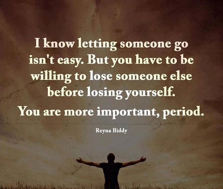 Loosing Someone: You Have To Be Willing To Lose Someone Else Before Losing