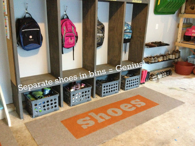 Captivating Cubby Garage Storage For Kids