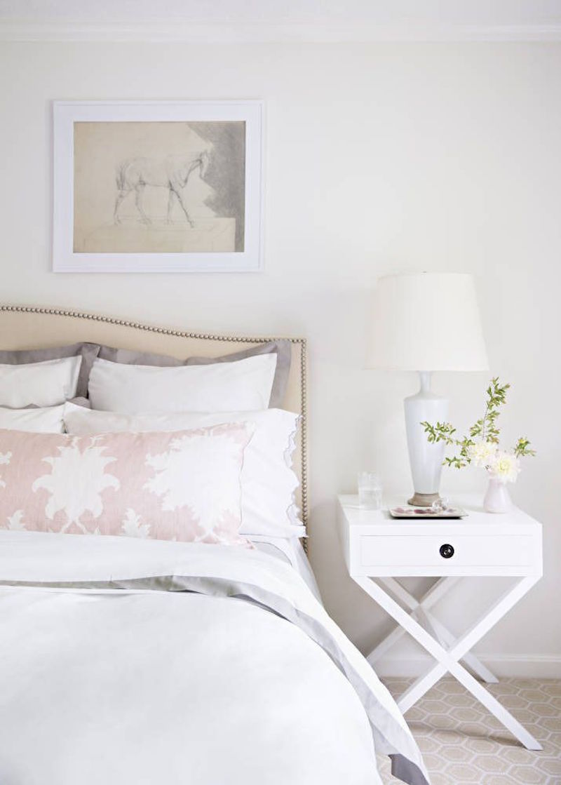 Soft white bedroom decor pictures photos and images for for Chambre style shabby chic
