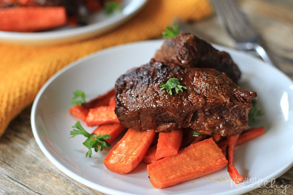 Tender Juicy Balsamic Braised Beef Short Ribs Pictures, Photos, and ...