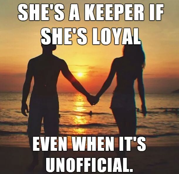 Shes A Keeper If Shes Loyal Pictures, Photos, and Images