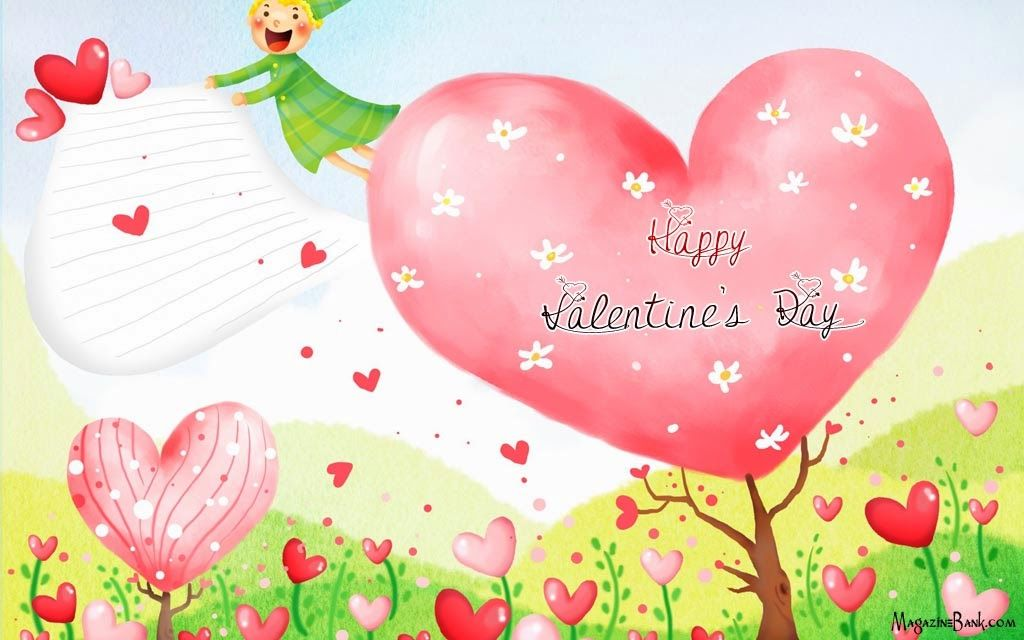 Happy Valentine S Day Hearts Wallpaper Pictures Photos And Images