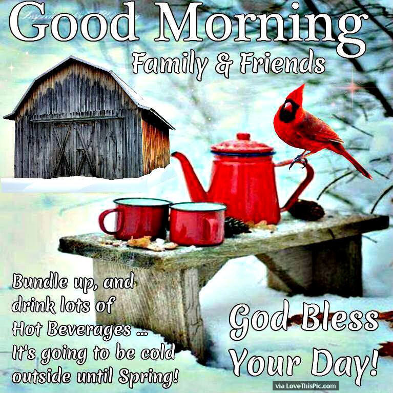 Good Morning Family And Friends God Bless Your Day Pictures Photos