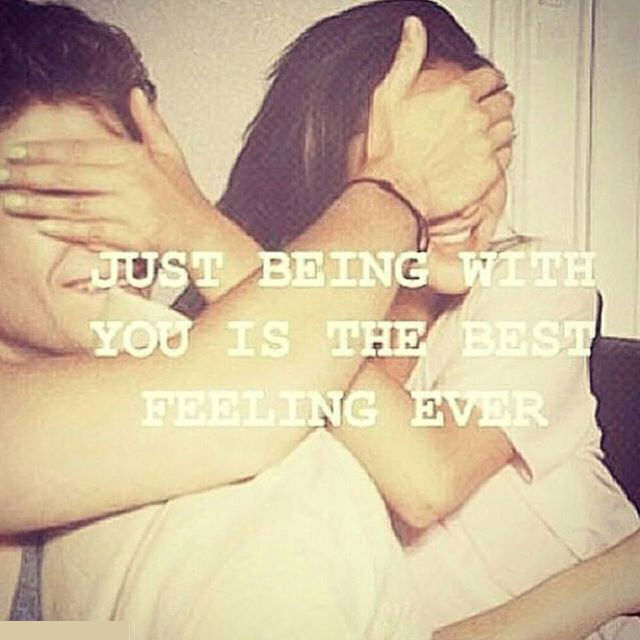 Just Being With You Is The Best Feeling Ever Pictures ... Being Yourself Quotes Tumblr