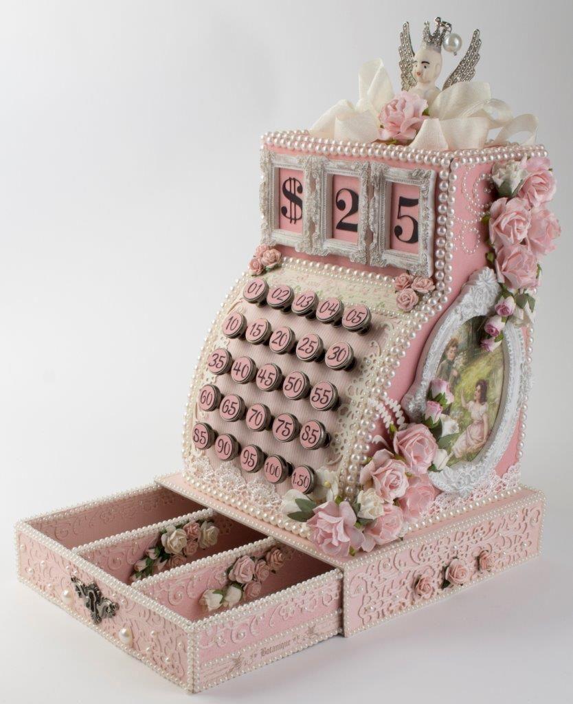 diy vintage cash register keepsake box pictures photos. Black Bedroom Furniture Sets. Home Design Ideas