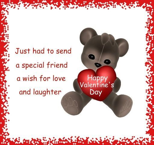 Cute Toddler Valentines Day Quotes: Happy Valentines Day Quote For A Friend Pictures, Photos