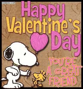 Happy Valentineu0027s Day, Youu0027re A Great Friend