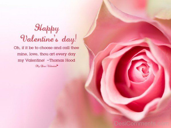 Happy Valentine\'s Day Rose Quote Pictures, Photos, and Images for ...