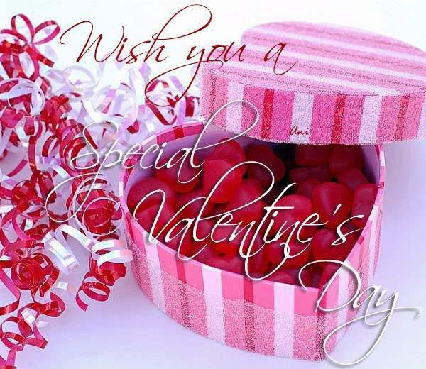 wish you a special valentines day