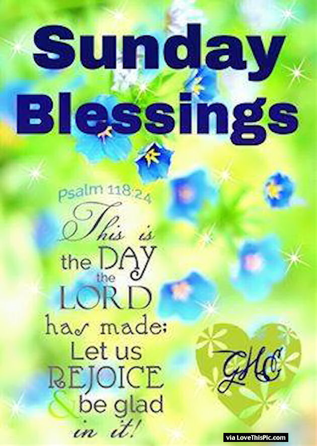 Sunday Blessings Religious Quote Pictures, Photos, and Images for