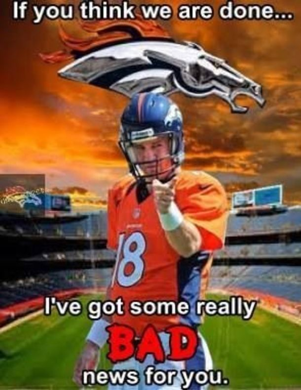Denver Broncos Peyton Manning Quote Pictures, Photos, and