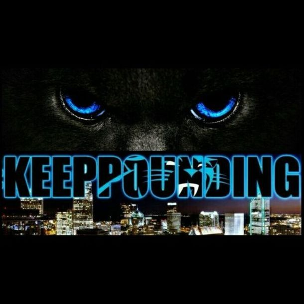 carolina panthers keep pounding