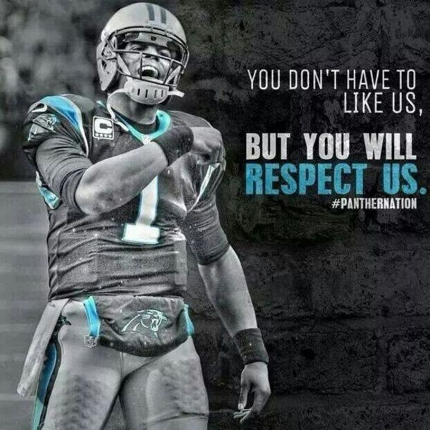 You will respect us carolina panthers quote pictures - Carolina panthers wallpaper cam newton ...