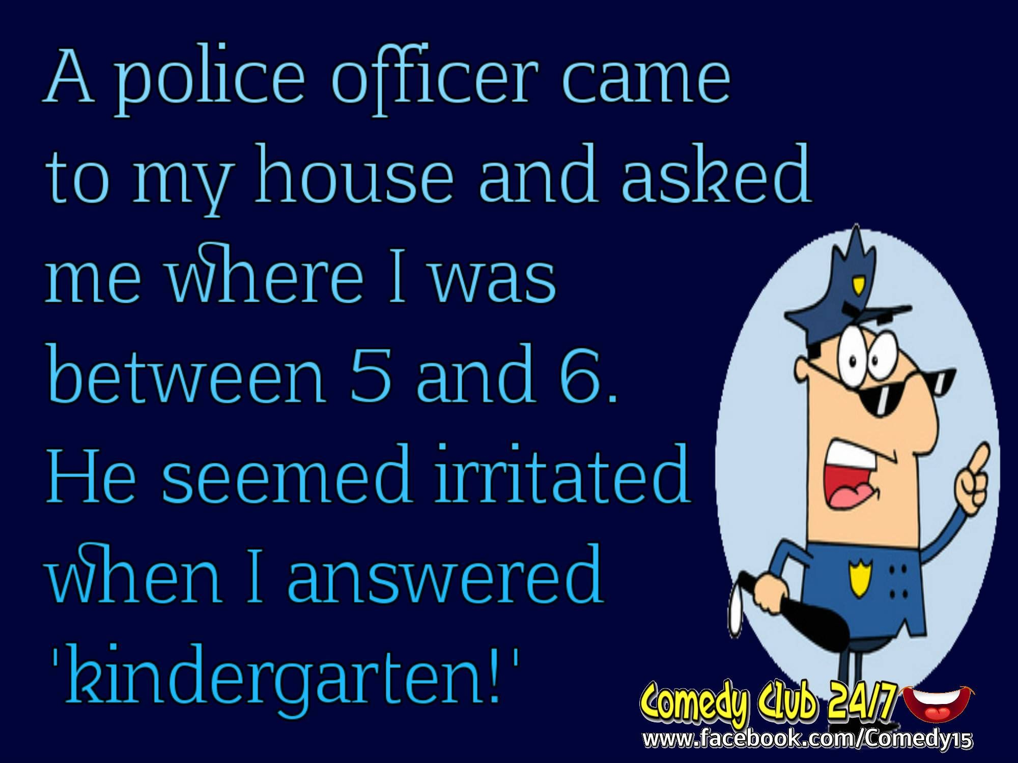 Officer jokes