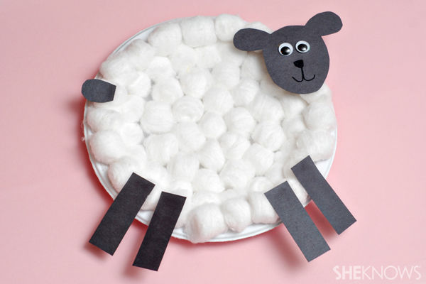 Cotton Ball Lamb Craft Pictures Photos And Images For
