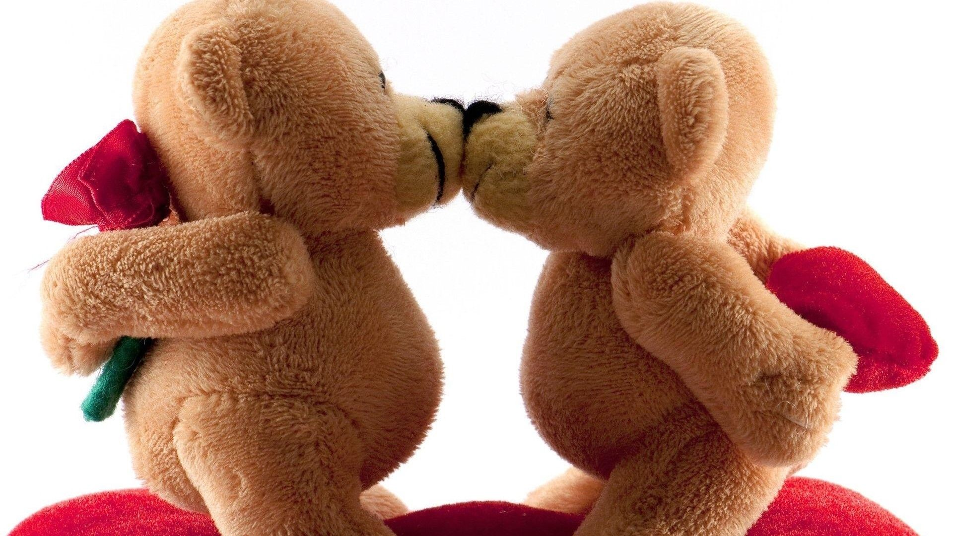cute Gay Love Wallpaper : Kissing Teddy Bears Happy Valentines Day Pictures, Photos, and Images for Facebook, Tumblr ...