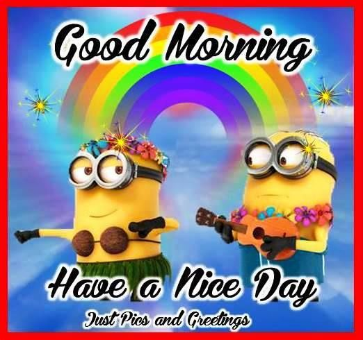 Minion Good Morning Quote