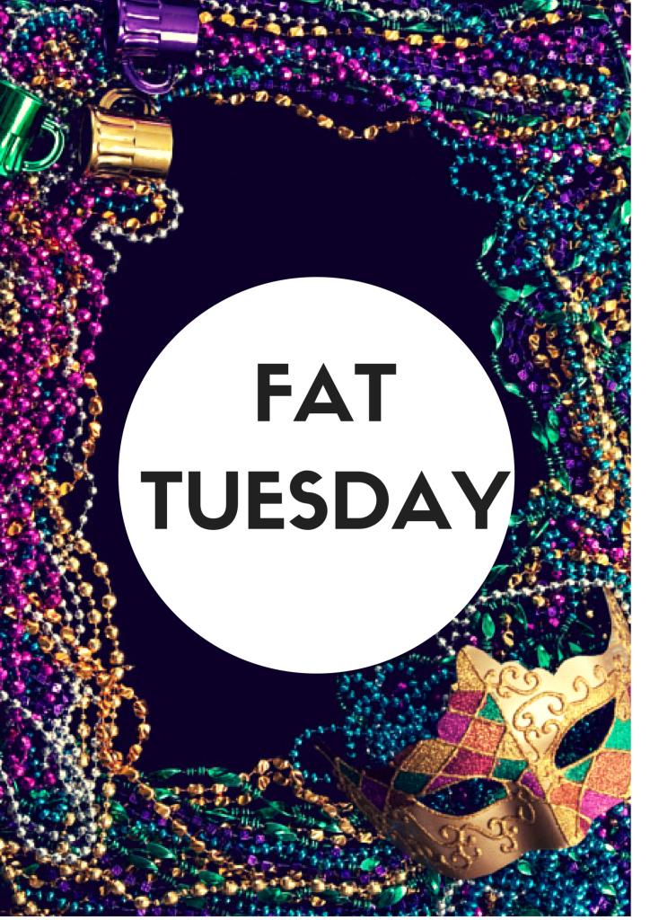 Fat Tuesday  Ee  Bf Facebook  Ee   Twitter  Ee  Ba Pinterest  Ee  Af Google