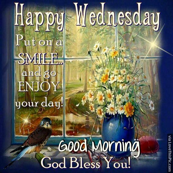 Happy Wednesday Good Morning God Bless You Pictures