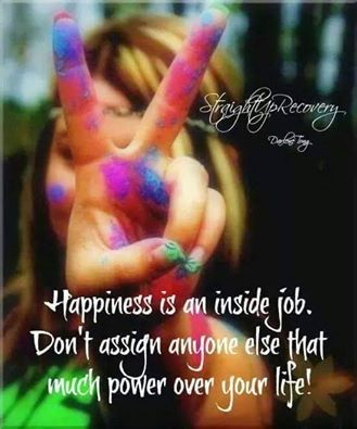 Great Happiness Is An Inside Job