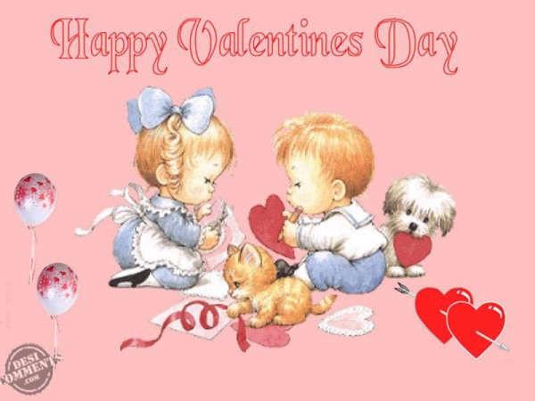 Happy Valentineu0027s Day Baby Image