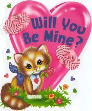 Will You Be Mine Kitty Valentine Quote Pictures Photos And Images