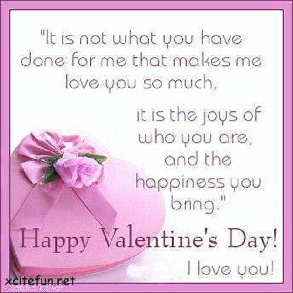 Happy Valentineu0027s Day I Love You