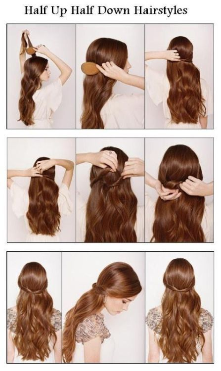 Hald up half hairstyles pictures photos and images for facebook hald up half hairstyles solutioingenieria Gallery