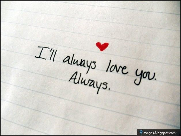 ll always love you