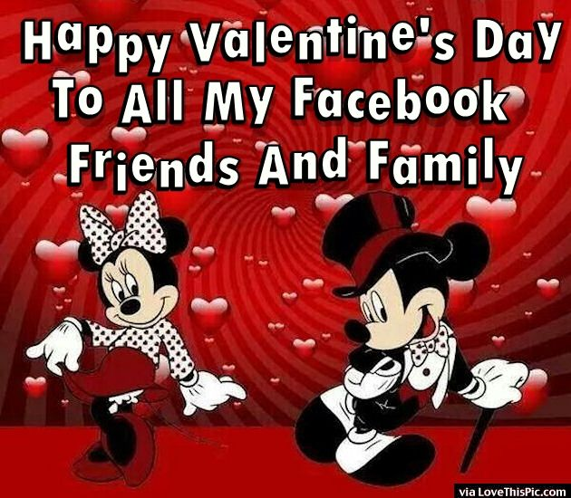 Happy Valentine 39 S Day To All My Facebook Friends And