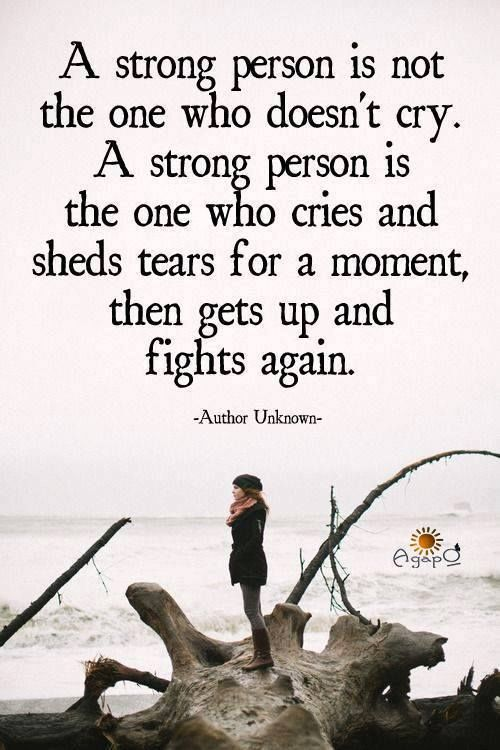 A Strong Person Quote Pictures, Photos, and Images for Facebook