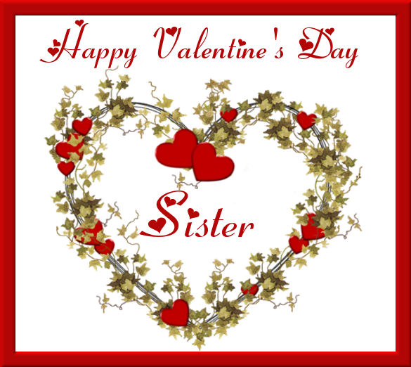 Happy Valentineu0027s Day Sisters Images   Happy Valentine S Day Sister S And