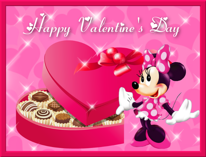 Happy Valentines Sister Quotes: Happy Valentine's Day Minnie Mouse Quote Pictures, Photos
