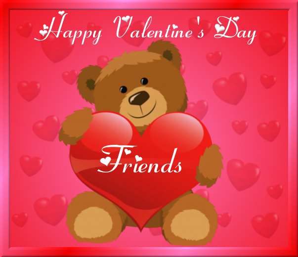 Friend Valentines Quotes: Happy Valentine's Day Friends Pictures, Photos, And Images