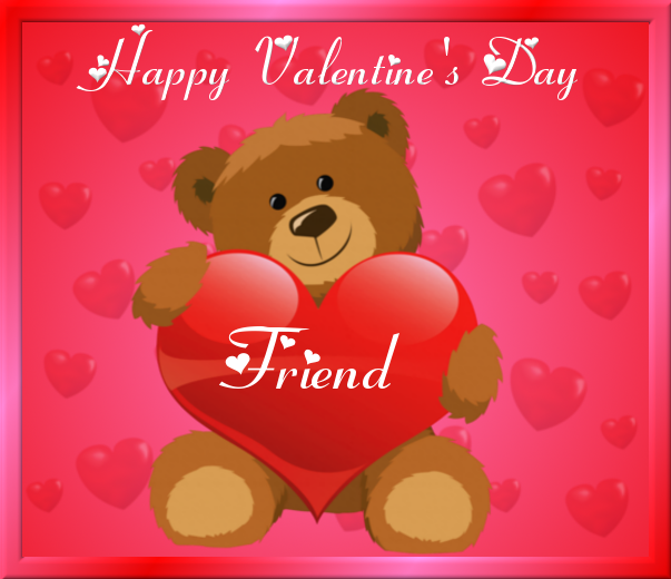 Happy Valentine's Day Friend Pictures, Photos, And Images