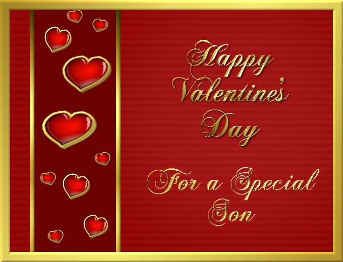 happy valentine's day for a special son pictures, photos, and, Ideas