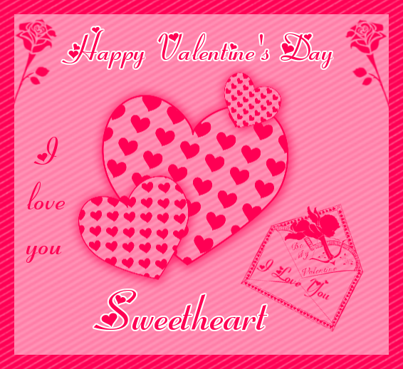 happy valentines day i love you sweetheart - Happy Valentines Day Sweetheart
