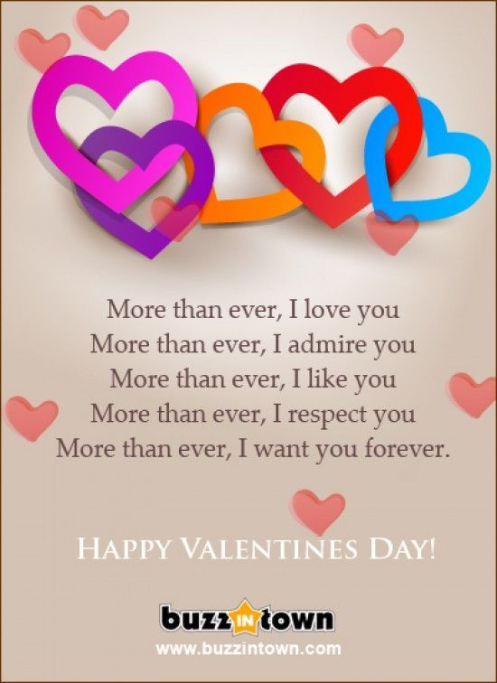 I Love You More Than Funny Quotes For Friends : Happy Valentines Day I Love You More Than Ever Pictures, Photos, and ...